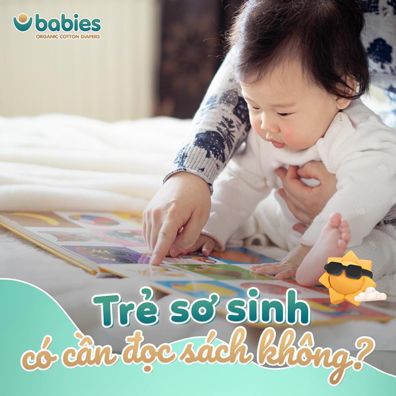 Trẻ sơ sinh có cần đọc sách không ?